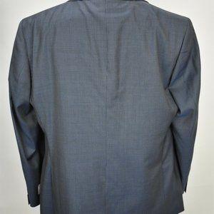Joseph Abboud Suits & Blazers - $429 NWT 48R Joseph Abboud Metal Blue Plaid blazer